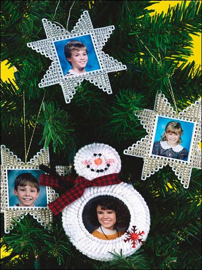 Christmas Photo Ornaments photo