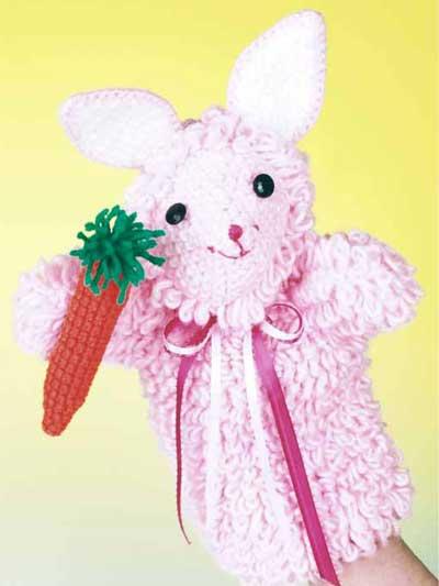 Sunny Bunny Puppet photo