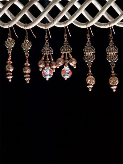 Copper Treats Earrings photo
