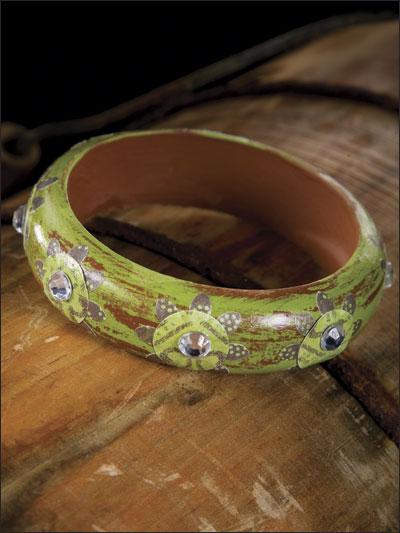 Decoupaged Bracelet photo