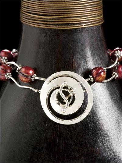Sinuous Silver Bracelet photo