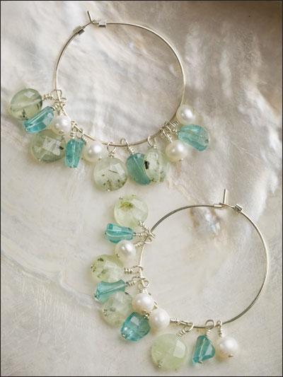 Oceans of Delight Earrings photo