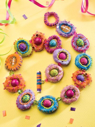Felty Fiesta Necklace photo