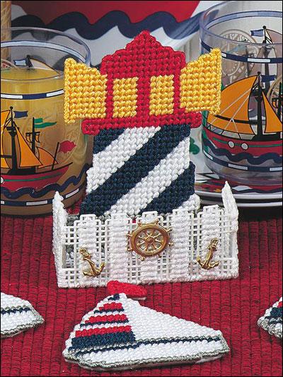 Lighthouse Coaster Set photo
