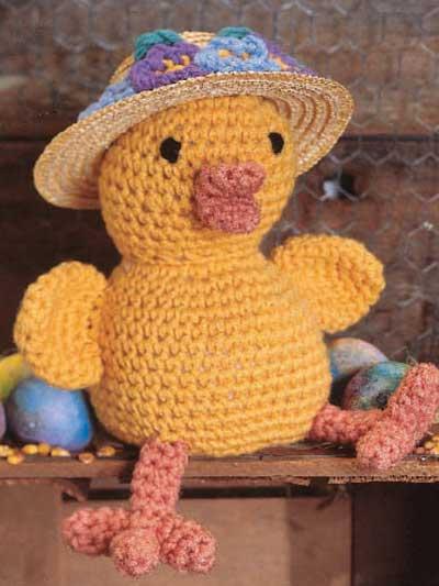 Easter Bonnet Chick photo