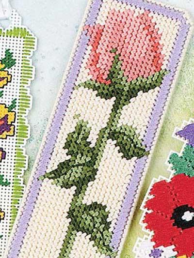 Delicate Floral Bookmark photo