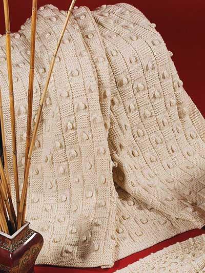 Basketweave Afghan photo