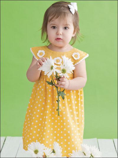 Daisy-Trimmed Dress photo
