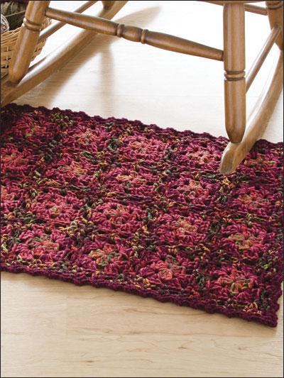 Tweed Granny Rug photo
