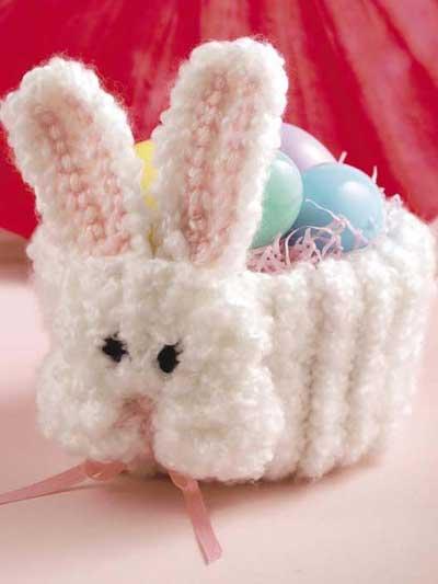 On-the-Double Bunny Basket photo
