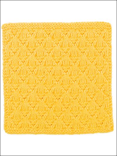 Lemon Punch Dishcloth photo