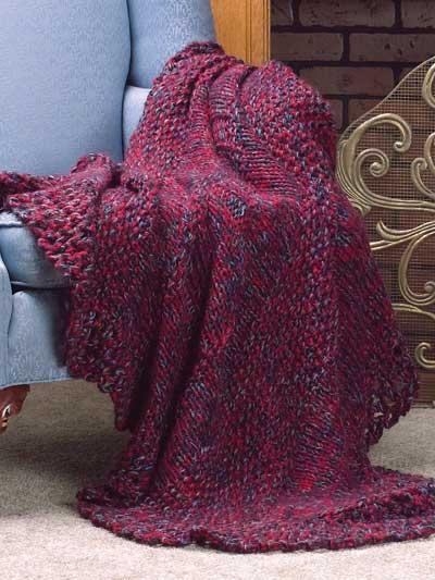 Fireside Comfort Afghan photo