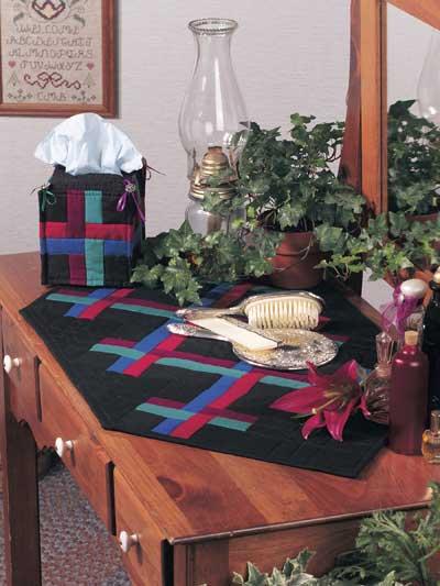 Amish Weave Dresser Set photo