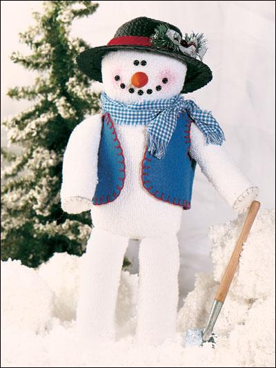 Soft & Cheery Snowman photo