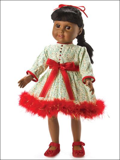 Glitzy Holiday Dress photo