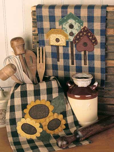 Homespun Charm Kitchen Towels photo