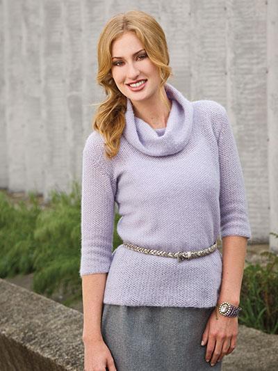 Lilac Mist Sweater photo