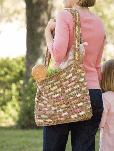 Scraptastic Market Bag photo