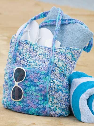 Ocean Waves Beach Bag photo