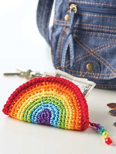 Rainbow Coin Purse photo