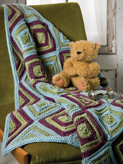 Mini Miters Baby Blanket photo