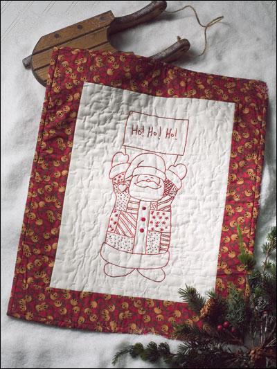 Quilty Santa photo