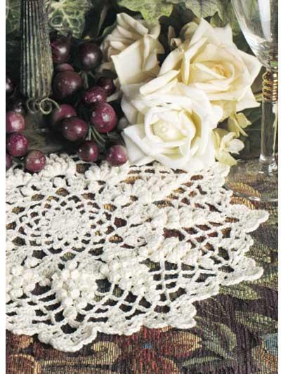 Grape Harvest Doily photo