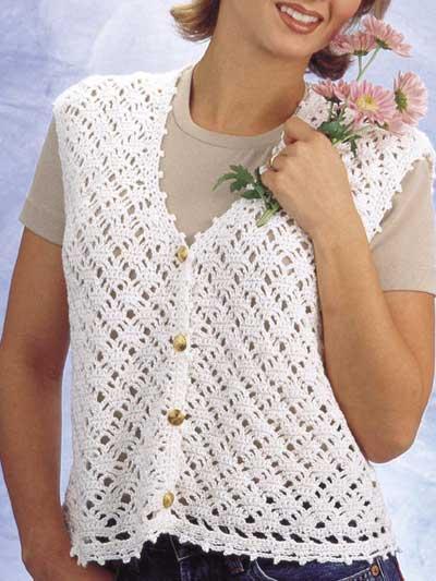 Diamond Lace Vest photo
