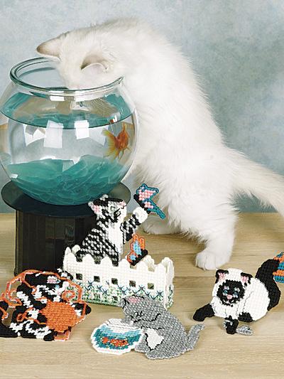 Curious Kitten Coasters photo