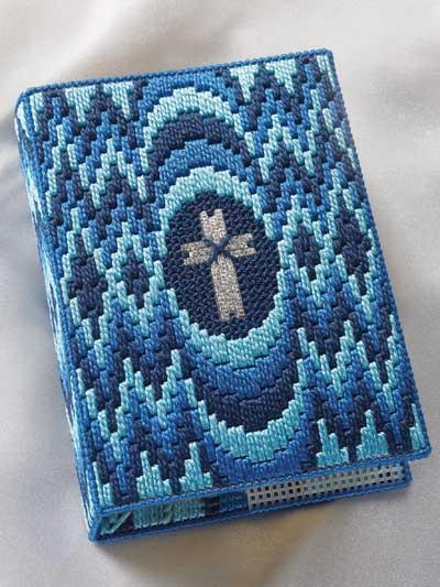 Bargello Bible Cover photo