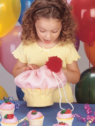 Birthday Cupcake Surprise Bag photo