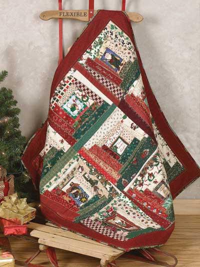 Christmas Crazy Quilt photo