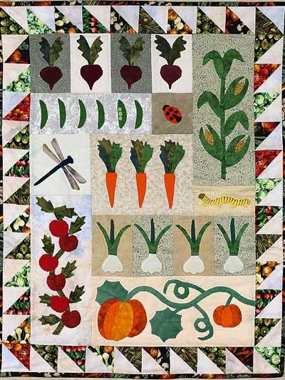 Garden Wall Quilt photo