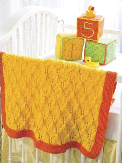 3-D Baby Blanket & Toy Blocks photo
