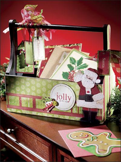 Jolly Holly Santa photo