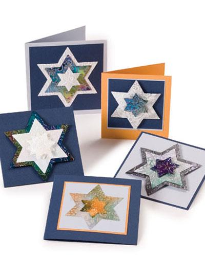 Hanukkah Star Cards photo