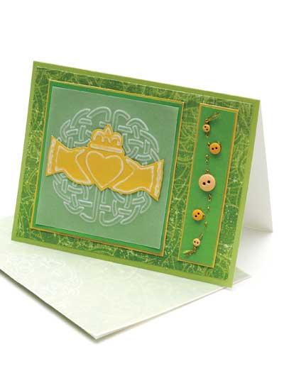 Irish Traditions Card Design photo