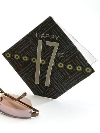 Happy 17th Birthday Card photo