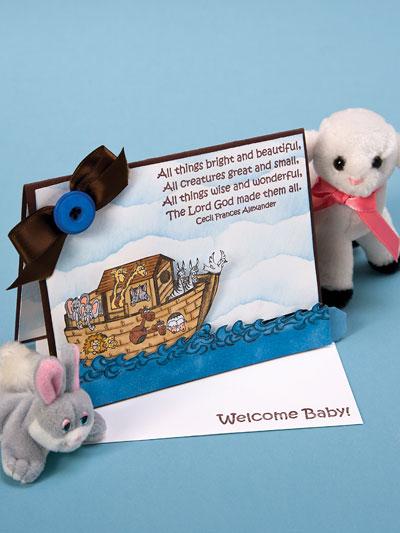 Noah's Ark Push/Pull Card photo