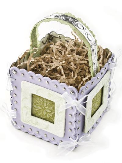 Hydrangea Gift Basket photo