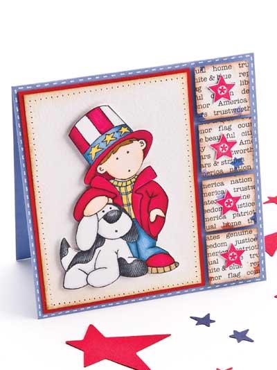 Little Patriot Card photo