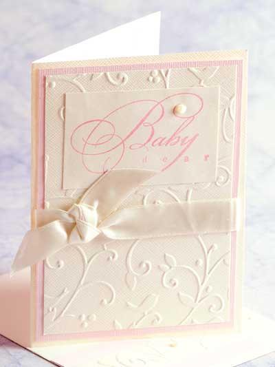 Baby Dear Card Design photo