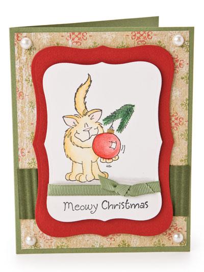 Meowy Christmas Card photo