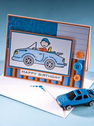 Birthday Sportster Card photo