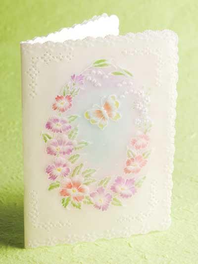 Floral Frame Card photo