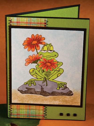 Frog-ot Your Birthday Card photo