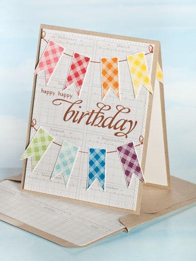 Banner Birthday Card photo