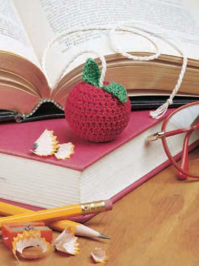 Apple Bookmark photo