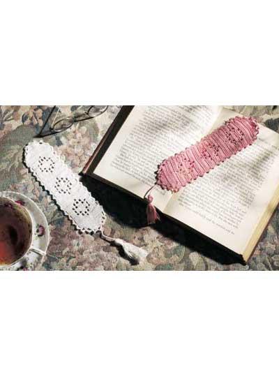 Closed Diamond Filet Bookmark photo