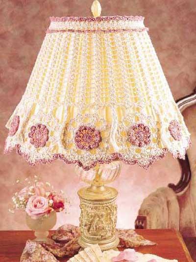 Tasseled Lamp Shade photo
